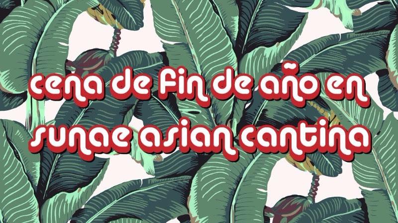 Cena de fin de a o en sunae asian cantina tribuna for Cenas para fin de ano
